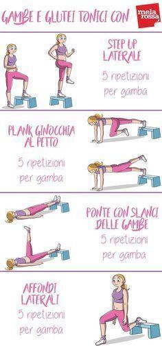 Workout Plans For Women Esercizi Glutei Esercizi Di Tonificazione