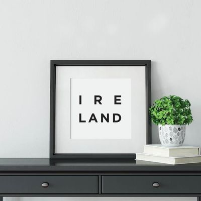 Ireland Poster Ireland Wall Art Ireland Art Ireland Print Etsy In 2021 Ireland Decor Minimalist Art Irish Art