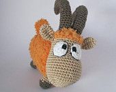 "Cute little Orange  Lamb  ""Rijik"""