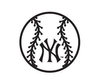 New York Yankees Svg Etsy New York Yankees Yankees Etsy