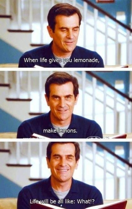 These Questions Just Might Make You Think Differently About Your Life Modern Family Memes Modern Family Quotes Modern Family Phil
