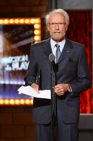 Clint Eastwood speaks onstage during the 68th Annual Tony Awards at Radio City Music Hall on June 8, 2014 in New York City.