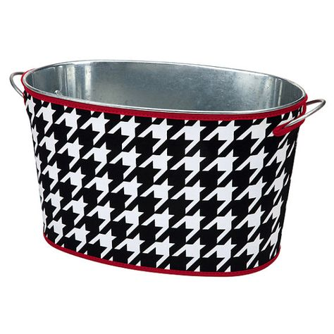 Galvanized Tin Tub With Neoprene Cover Party Tub Beverage Tub