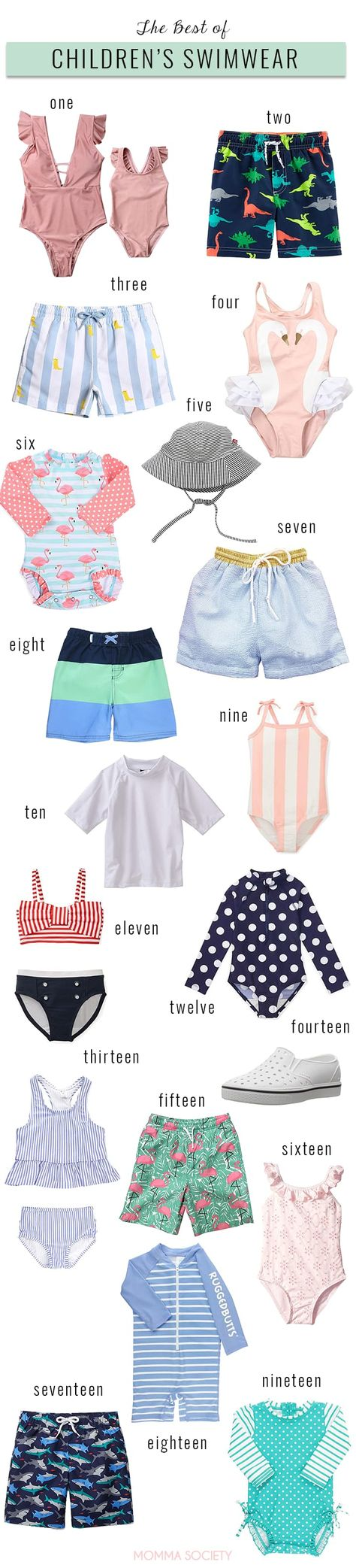f8ba713a7 The Best of Children's Swimsuits for 2019 - A roundup of the best amazon  swimwear for babies and toddlers.