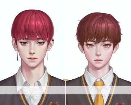 Trendy Hair Drawing Male Korean Ideas Digital Art Anime Guy Drawing Boy Hair Drawing
