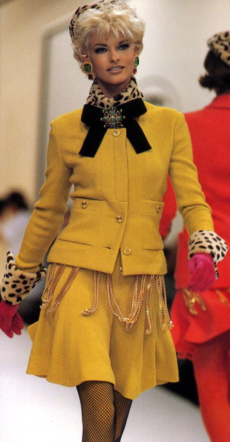 Linda Evangelista for Chanel, f/w - so timeless
