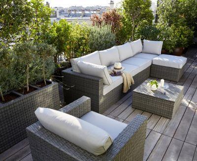 Lot Table Basse De Jardin Fauteuil De Jardin 2 Fauteuils D