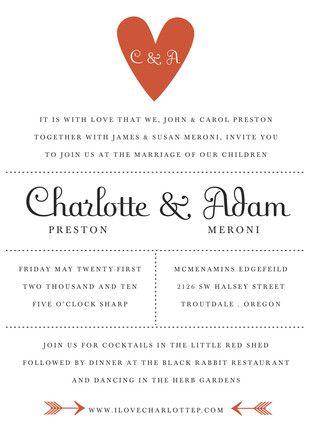 Wedding Invite Etiquette Free
