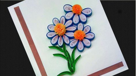 3D Cut Paper Lotus Flower Plants Greeting Card Teacher/'s Day Card Gift LC