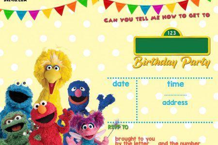 Sesame Street Birthday Invitations Online Sesame Street Birthday Invitations Sesame Street Birthday Sesame Street Birthday Party Invitation