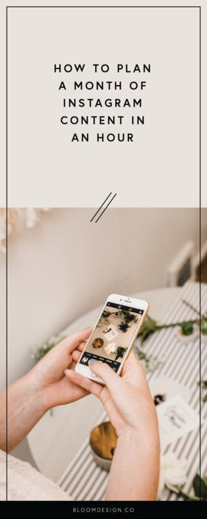 How I Schedule My Instagram Posts for an Entire Month in Just an Hour   Efficiency is the goal, but we also want to create engaging content for our audience. This is my strategy to do just that!