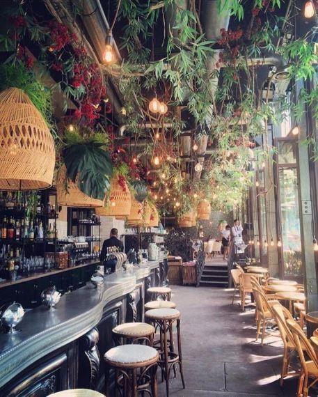 Get To Know The New Luxury Restoration Hardware Store Restaurant Design Bistro Interior Bar Design Restaurant
