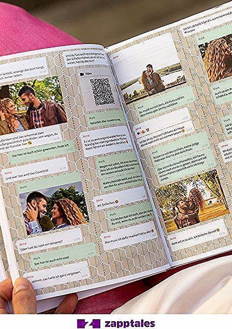 Mit Zapptales Konnen Sie Ihre Whatsapp Chats In Einem Bestimmten Buch Ausdrucken Mit Zu In 2020 Birthday Surprise Boyfriend Boyfriend Birthday Boyfriend Anniversary Gifts