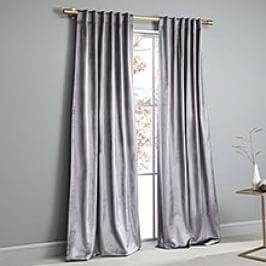 Cotton Luster Velvet Curtain Platinum Velvet Curtains Curtains Velvet Duvet