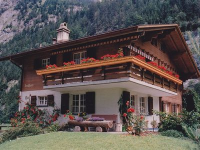 Holiday Apartment In Swiss Chalet In The Valley Of Waterfalls Swiss Chalet German Houses Swiss House