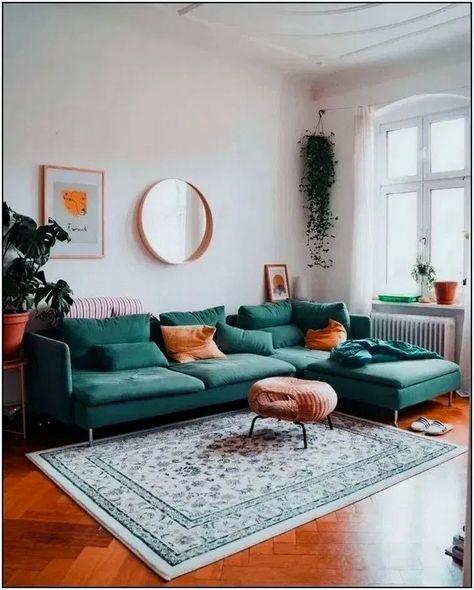 36+ Stunning Vintage Mid Century Living Room Decor Ideas #livingroomdesign #livingroomdecor #livingroomideas ~ Beautiful House