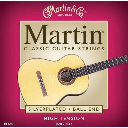 Martin Ball End High Tension Classical Guitar Strings Walmart Com In 2021 Guitar Strings Classical Acoustic Guitar Acoustic Guitar Strings