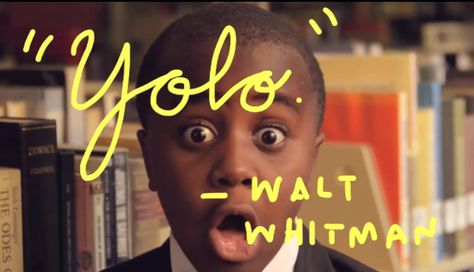 Kid President gives a pep talk to teachers http://www.youtube.com/watch?v=RwlhUcSGqgs