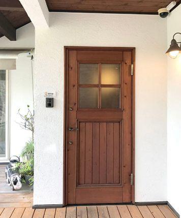 日本製の桧の玄関ドア 断熱性と気密性 アイエムドア 玄関ドア