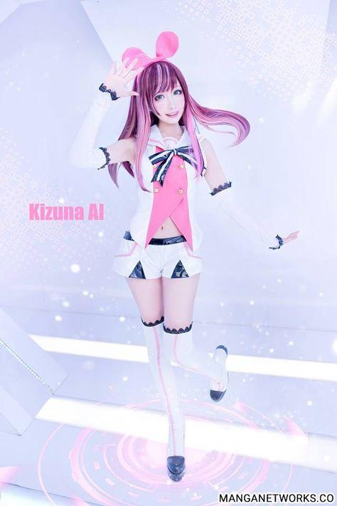 Những hình ảnh Cosplay Kizuna Ai cực kỳ dễ thương khiến ai