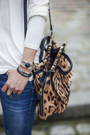 Accessoires léopards parfaits pour être stylée cet automne #léopard #mode #fashion #accessoires #automne #fall #sac
