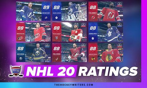 NHL 20 Player Ratings: 41-50  #JonathanToews, #NHL20, #PKSubban, #PhilKessel