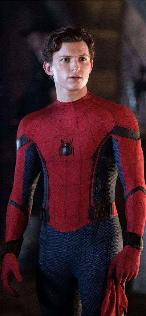 spiderman far from home 5k iPhone X Wallpapers