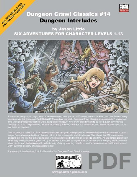 Dungeon Crawl Classics #14: Dungeon Interludes – PDF