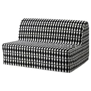 Lycksele Lovas Convertible 2 Places Ransta Blanc Ikea Lycksele Ikea Sofa Bed Ikea Sofa