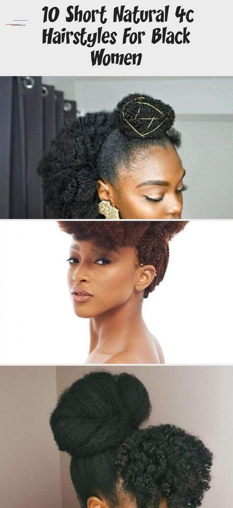 4c natural hair updo for African American women who struggle to sleek down their short 4c hair in a protective style. #Mediumnaturalhair #naturalhairRoutine #naturalhairFlatIroned #Beautifulnaturalhair #naturalhairWedding<br>