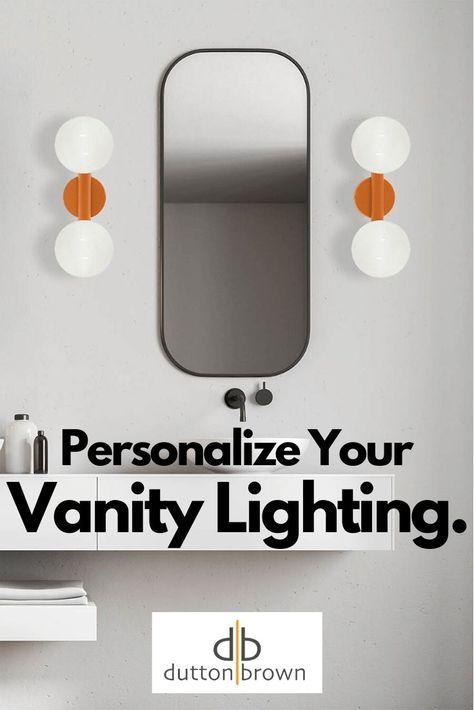 Color Icon 2 Globe Sconce Vanity Lighting