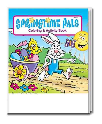 Springtime Pals Kid S Coloring And Activity Book In Bulk 25 Pack Learn More Evaluations Of The Item By Visiting The L Books Coloring Books Book Activities