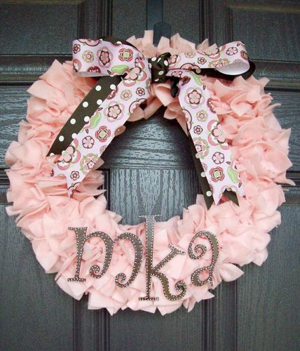 So pretty! Birth Wreaths can add some sweetness to your hospital door - or to announce the birth at home!