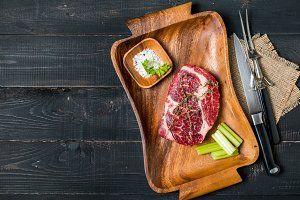 Steak Containing Appetizer Arugula Background Bio Bowl Bunch Closeup Cuisine By Piter Goskov On Creativemarket In 2021 Appetizers Cuisine Arugula