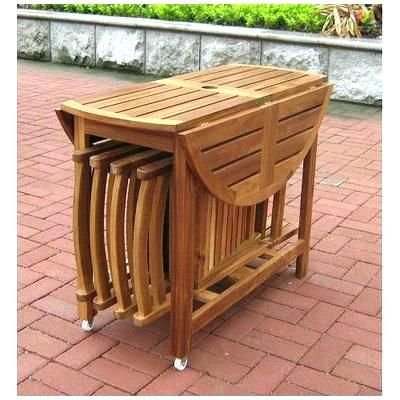 Chairs Outdoor Furniture Drop Leaf