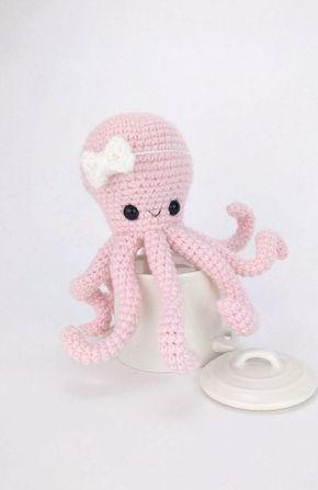 Amazon.es: pulpos crochet | 447x290
