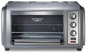 Amazon Com Hamilton Beach 31434 Easy Reach Toaster Oven With Roll