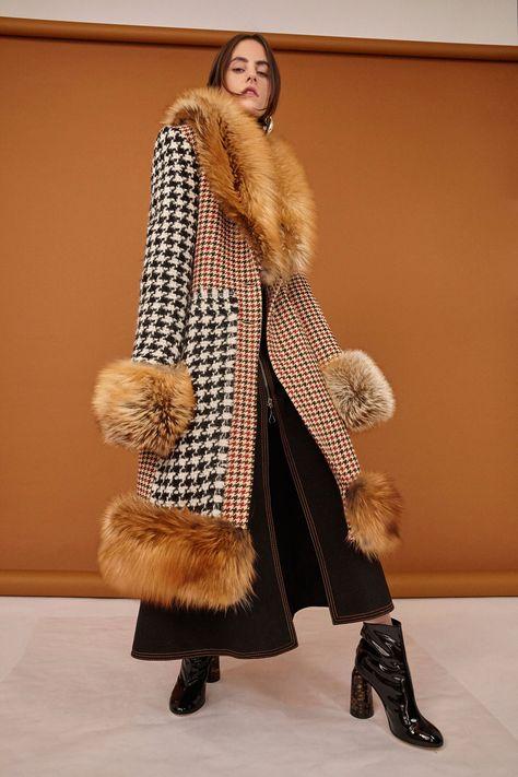 Ellery Pre Fall 17- the check block long coat