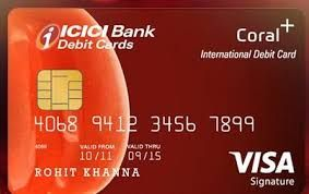 Icici Credit Card Activation Credit Card Pin Credit Card Types