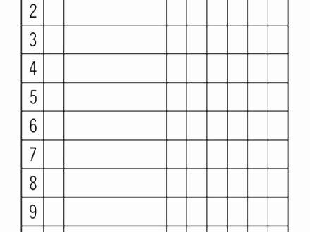 Free Printable Softball Score Sheets Lovely Free Baseball Score Sheet Template Batting Order L Baseball Lineup Funny Invitations Mason Jar Invitations Template