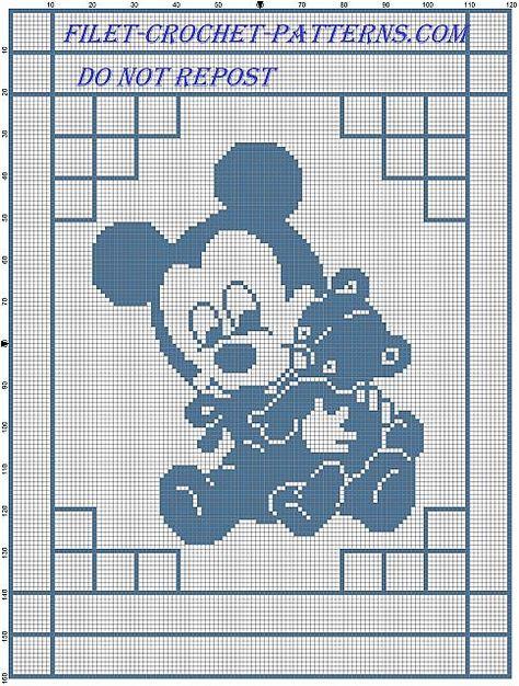 Crochet Afghan Downloads - Sleep Tight Teddy Bear Crochet Designs | 626x474