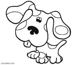 Blues Clues Coloring Pages Coloring Pages For Kids Cute