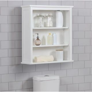Overstock Com Online Shopping Bedding Furniture Electronics Jewelry Clothing More In 2020 Bathroom Wall Shelves Diy Shelves Bathroom Bath Storage