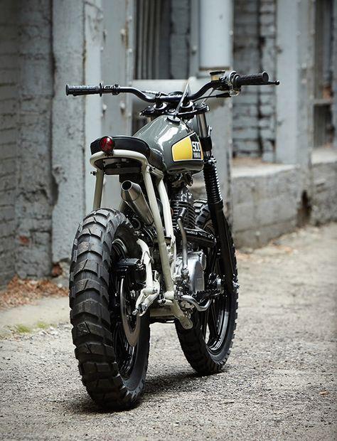 Powder Monkees Yamaha SR500