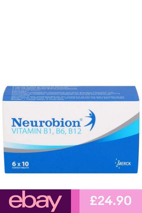 Neurobion 60s Vitamin B Complex B1 B6 B12 Coated Tablets By Merck Express Neurobion Vitamins Health Supplements