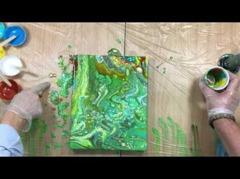 Learn How To Paint Large Abstract Artworks Art Classes Video Art