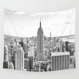 New York City Manhattan Black White Wall Tapestry Wall Tapestry Tapestry Tapestry Bedroom