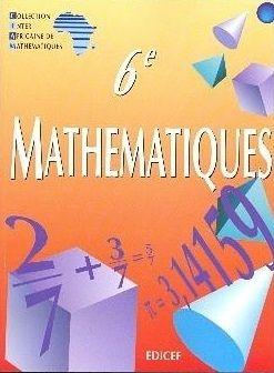 Auteur S Ciam Saliou Toure Edition Mathematique Ciam Serie Scientifique Edite Mathematiques Classe De Sixieme 6e