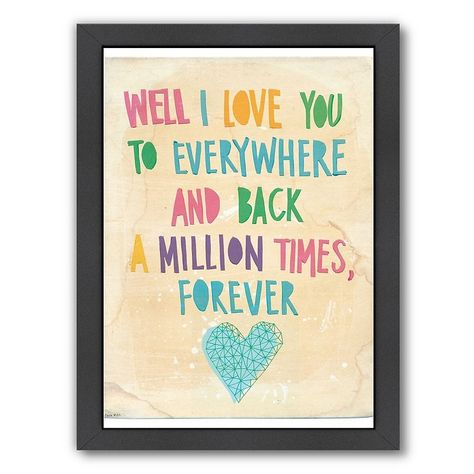 Americanflat Paula Mills ''Everywhere And Back'' Framed Wall Art, Multicolor