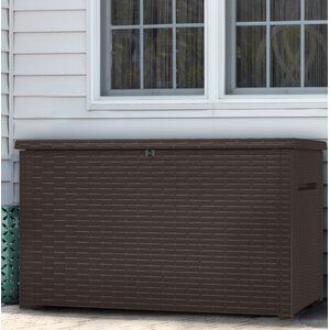 10ft W X 12ft D Storage Shed Kit Brackets Only In 2020 With Images Resin Deck Box Deck Box Plastic Storage Sheds
